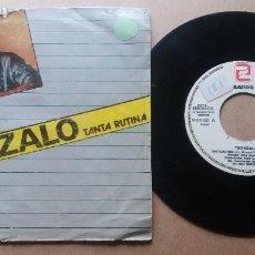 Discos de vinil: GONZALO / TANTA RUTINA / SINGLE 7 PULGADAS. Lote 289812353