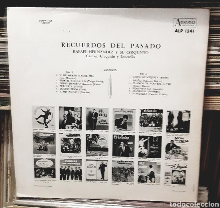 Discos de vinilo: MUSICA GOYO - LP - RAFAEL HERNÁNDEZ (EL JIBARITO) Y SU CONJUNTO - RECUERDOS DEL PASADO - AA99 - Foto 3 - 289817238