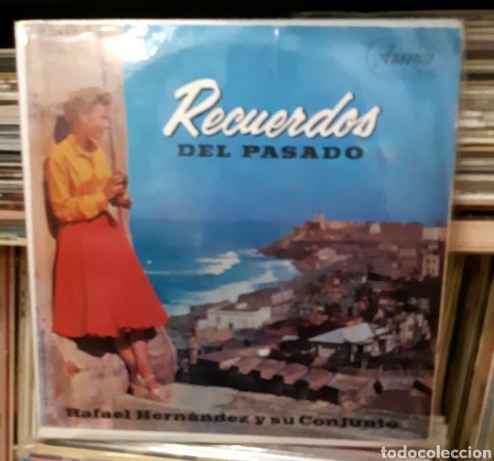 MUSICA GOYO - LP - RAFAEL HERNÁNDEZ (EL JIBARITO) Y SU CONJUNTO - RECUERDOS DEL PASADO - AA99 (Música - Discos - LP Vinilo - Grupos y Solistas de latinoamérica)