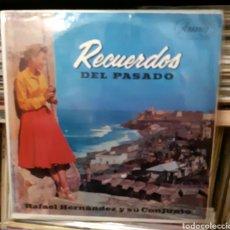 Discos de vinilo: MUSICA GOYO - LP - RAFAEL HERNÁNDEZ (EL JIBARITO) Y SU CONJUNTO - RECUERDOS DEL PASADO - AA99. Lote 289817238