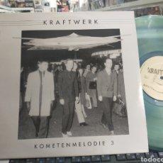 Discos de vinilo: KRAFTWERK LP KOMETENMELODIE 3 VINILO DE COLOR. Lote 289825898