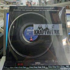 Discos de vinilo: KRAFTWERK LP FRANKFURT,WEST GERMANY ;JANUARY 25,1974.RADIO BROADCAST PRECINTADO. Lote 289827148