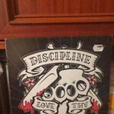 Discos de vinilo: DISCIPLINE / LOVE THY NEIGHBOR / KNOCK OUT RECORDS 2001. Lote 289842558