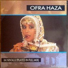 """Discos de vinilo: OFRA HAZA : IM NIN' ALU [ESP 1988] 12"""". Lote 289843158"""