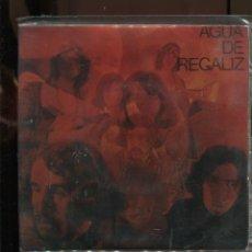 Discos de vinilo: AGUA DE REGALIZ. WAITING IN THE MUNSTER'S GARDEN. SELLO DIABOLO 1970. SP BUENO PROBADO. Lote 289846683
