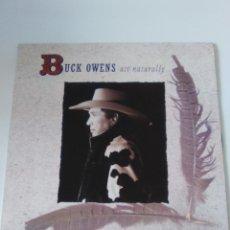 Discos de vinilo: BUCK OWENS ACT NATURALLY ( 1989 CAPITOL UK ) MUY BUEN ESTADO RINGO STARR EMMYLOU HARRIS. Lote 289859568