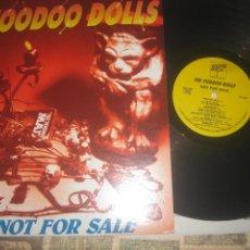 Discos de vinilo: THE VOODOO DOLLS NOT FOR SALE +ENCARTE ( HELTER SKELTER RECORDS-1993) OG USA, GARAJE SIN SEÑALES DE. Lote 289860218
