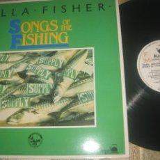 Discos de vinilo: CILLA FISHER SONG OF TH FISHING (KETTLE& BRIDGE -1983) ORIGINAL INGLES CELTA IRIS FOLK. Lote 289861848