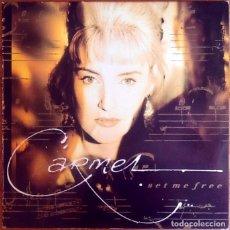 Discos de vinilo: CARMEL : SET ME FREE [ESP 1989] LP. Lote 289862798