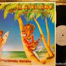 Discos de vinilo: WILFRIDO VARGAS – EL AFRICANO ¡MAMA QUÉ SERÁ LO QUE QUIERE EL NEGRO! LP. Lote 289863718