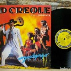 Discos de vinilo: KID CREOLE AND THE COCONUTS – DOPPELGANGER LP. Lote 289864548