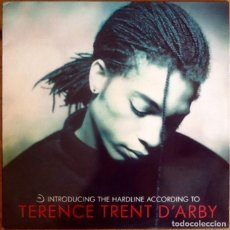 Discos de vinilo: TERENCE TRENT D'ARBY : INTRODUCING THE HARDLINE ACCORDING TO... [ESP 1987] LP. Lote 289864663