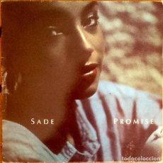 Discos de vinilo: SADE : PROMISE [ESP 1985] LP. Lote 289865143