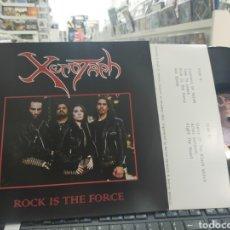 Discos de vinilo: XENOTAPH LP ROCK IS THE FORCE HEAVY METAL DE ARGENTINA. Lote 289868403