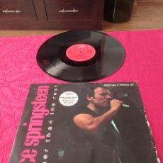 Discos de vinilo: MAXI-SINGLE DISCO BRUCE SPRINGSTEEN. Lote 289872218