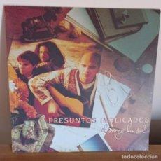 Discos de vinilo: PRESUNTOS IMPLICADOS - EL PAN Y LA SAL - LP - DISCO DE VINILO - 1994. Lote 175878489