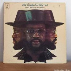 Discos de vinilo: BILLY PAUL - 360 GRADOS DE BILLY PAUL - YO Y LA SRA. JONES - LP - 1973. Lote 276732873