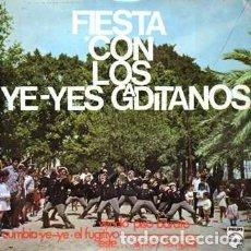 Discos de vinilo: EPS, LOS YE-YES GADITANOS. VENDO PISO BARATO, EL FUGITIVO..... SINGLE-8944. Lote 289876378