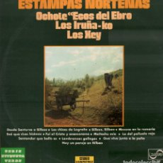 Discos de vinilo: ESTAMPAS NORTEÑAS - OCHOTE, ECOS DEL EBRO, LOS IRÑA-KAO.../ LP ZAFIRO DE 1977 RF-10417. Lote 289876503
