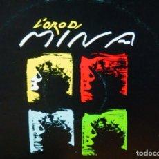 Discos de vinilo: MINA LP * L'ORO DI MINA * 1987 ITALIA CAROSELLO. Lote 289877378