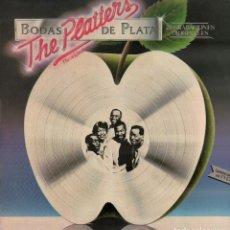 Discos de vinilo: THE PLATTERS - BODA DE PLATA - 20 GRABACIONES ORIGINALES / LP FONOGRAM 1981 RF-10424. Lote 289877708