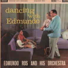 Discos de vinilo: EDMUNDO ROS AND HIS ORCHESTRA - DANCING WITH EDMUNDO / LP DECCA / BUEN ESTADO RF-10427. Lote 289878258