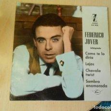 Discos de vinilo: FEDERICO JOVER, EP, COMO TE LO DIRIA + 3, AÑO 1963. Lote 289879898