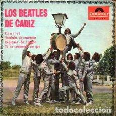 Discos de vinilo: EPS. LOS BEATLES DE CADIZ. CHARLOT, VENDEDOR DE CARAMELOS..... SINGLE-8949. Lote 289881378
