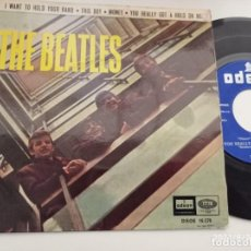 Discos de vinilo: EP-THE BEATLES-I WANT TO HOLD YOUR HAND-1964-SPAIN-. Lote 289882483