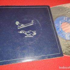 Discos de vinilo: MACROMASSA DARLIA MICROTONICA I/II 7'' SINGLE 1978 PRIVADO PROMO. Lote 289882883