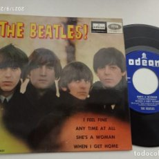 Discos de vinilo: EP-THE BEATLES-I FEEL FINE-1964-SPAIN-. Lote 289882968