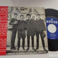 Discos de vinilo: EP-THE BEATLES-KANSAS CITY-1964-SPAIN-. Lote 289884348