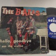 Discos de vinilo: SINGLE-THE BEATLES-HELLO GOODBYE-1967-SPAIN-. Lote 289885038