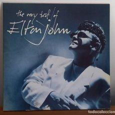 Discos de vinilo: ELTON JOHN - THE VERY BEST OF ELTON JOHN - 2 LP - DOBLE CARPETA - 1990. Lote 236254910