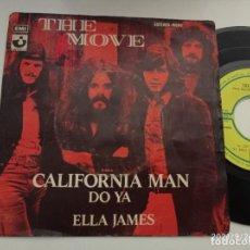 Discos de vinilo: SINGLE-THE MOVE-CALIFORNIA MAN-1972-SPAIN-. Lote 289887013