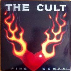 """Discos de vinilo: THE CULT : FIRE WOMAN [UK 1989] 7"""". Lote 289887293"""