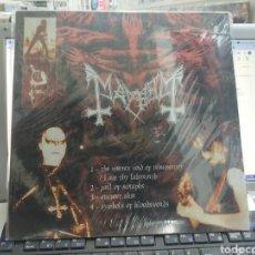 Discos de vinilo: MAYHEM / EMPEROR LP PRECINTADO. Lote 289887358