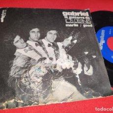 Discos de vinilo: GABRIEL GUITARRA LOS DELFINES MARLIS/GOOD 7'' SINGLE 1972 ARTYPHON PSYCH ! RARO. Lote 289887413