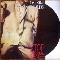 Discos de vinilo: TALKING HEADS : STOP MAKING SENSE [ESP 1984] LP. Lote 289888878