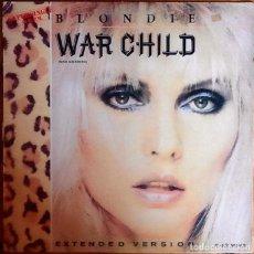 "Discos de vinilo: BLONDIE : WAR CHILD [ESP 1982] 12"". Lote 289890588"
