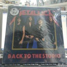Discos de vinilo: METALLICA LP BACK TO THE STUDIO PRECINTADO VINILO DE COLOR TIRADA DE 150 COPIAS. Lote 289891223
