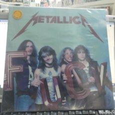 Discos de vinilo: METALLICA LP FUCK PRECINTADO VINILO DE COLOR. Lote 289891533