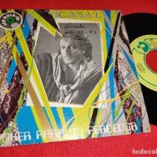 Discos de vinilo: CASAL POKER PARA UN PERDEDOR/MIEDO 7'' SINGLE 1983 EMI HARVEST MOVIDA POP. Lote 289893583