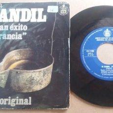 Discos de vinilo: GRUPO BADAJOZ DE LA SECCION FEMENINA DEL MOVIMIENTO / EL CANDIL / SINGLE 7 PULGADAS. Lote 289893928