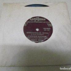 Discos de vinilo: TEDDY RENO / JACK PLEIS (EP) ARRIVEDERCHI ROMA AÑO – 1957. Lote 289908903