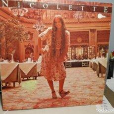 Discos de vinilo: LP NICOLETTE LARSON : NICOLETTE. Lote 289913393