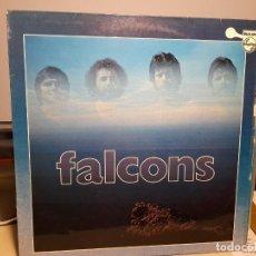 Discos de vinilo: LP FALCONS ( CONTIENE TERCIOPELO Y FUEGO + LA PROFECIA + PERDIDO EN EL UNIVERSO + ETC. Lote 289913528