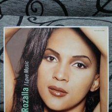 Discos de vinilo: ROZALLA – I LOVE MUSIC. Lote 289914043