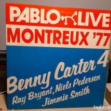 Discos de vinilo: LP BENNY CARTER 4 : MONTREAUX 1977. Lote 289914278
