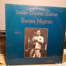 Discos de vinilo: LP DEXTER GORDON QUARTET _ SWISS NIGHTS. Lote 289914613